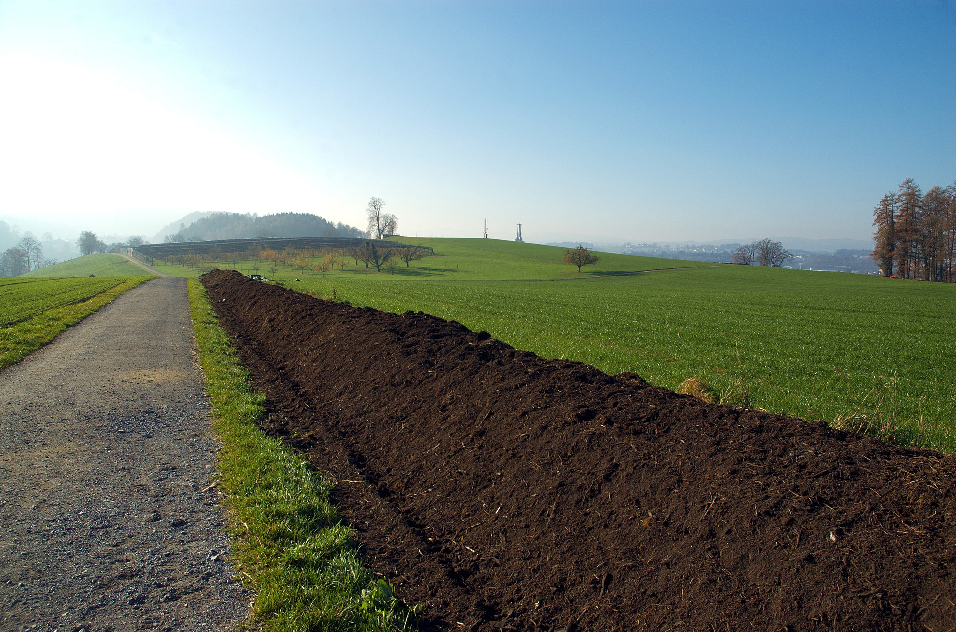 Kompost in der Landwirtschaft